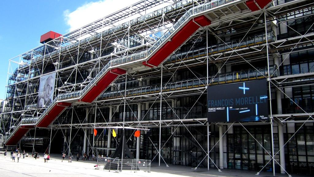 Centre Georges-Pompidou (Musée National d'Art Moderne)
